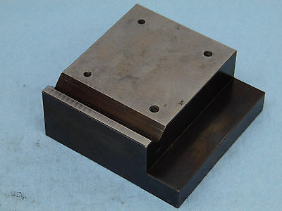 Machinist / Toolmakers blackened Bench Block 3.75x3.75x1.5 precision ground