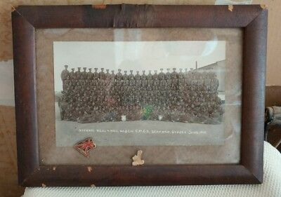 WWI Officers Photo - Seaford, Sussex June 1918