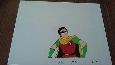 """1970's Robin Production Animated Cell 12.5"""" by 10.5"""""""