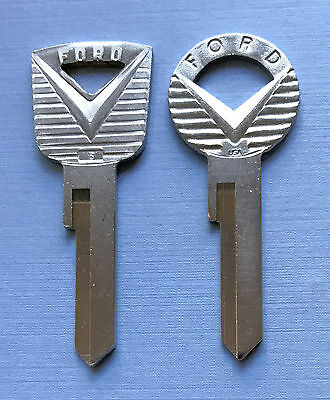 Ford H26 H27 Ignition/Door Uncut Key Blanks