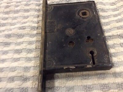 Vintage-Old-Antique-Full Mortise Bit (Skelton) Key Door Lock (Choice Of 1 Only)
