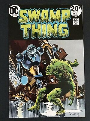 Swamp Thing #6 (1974) Wrightson 1st Print HIGH GRADE VF