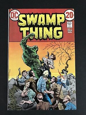 Swamp Thing #5 (1974) Wrightson 1st Print HIGH GRADE FN/VF