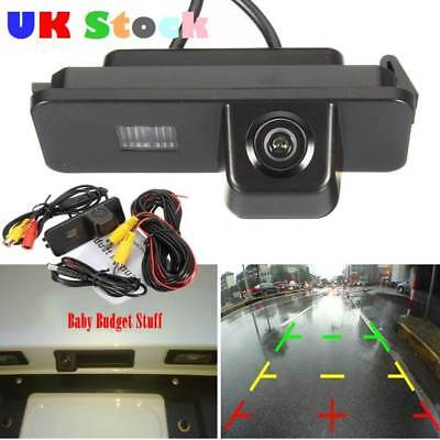 Car Reversing Rear View Camera VW Polo 2C Bora Golf MK4 MK5 MK6 Beetle Leon UK