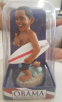 President Obama dashboard doll