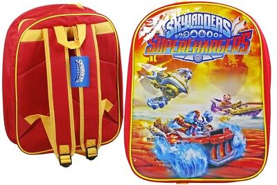 Skylanders Superchargers School Backpack Back Pack Travel Bag 40cm x 32cm NEW