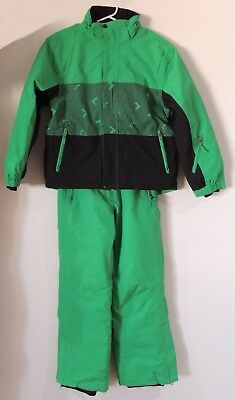 Snow Jacket and Pants Kids Green Size 12 Girl or Boy