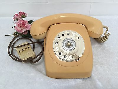 TELEPHONE VINTAGE PHONE DIAL TONE RARE COLLECTABLE WORKING ORDER USE or DISPLAY