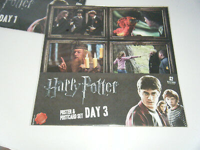 Harry Potter - Poster and Postcard set - Day 3