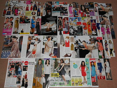 70+ MICHELLE MONAGHAN Magazine Clippings