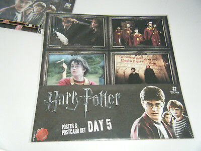 Harry Potter - Poster and Postcard set - Day 5