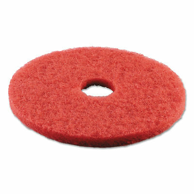 Boardwalk Standard 18' Buffing Floor Pads, Red, 5 Count