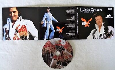 elvis presley in concert no comments digipack cd star 40th anniversary edition