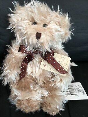 Radcliffe Gorgeous Scruffy Little Bear. Russ Bears From Past. New With Tags