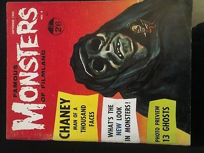 Famous Monsters Of Filmland No 8
