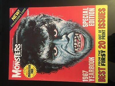 Famous Monsters Of Film Land 1967 Yearbook