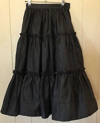 Vintage Mathilde Tiered Skirt - Size 8