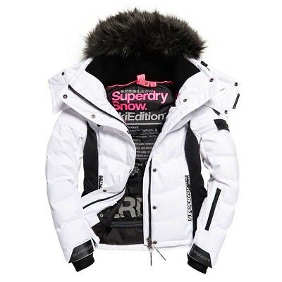 SUPERDRY Ski Jacket - Womens Snow Puffer Size Small