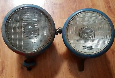 *** Vintage Fordson/MF Tractor Head Lamps ***