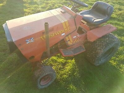 Westwood ride on tractor deisel engine play toy spares or repairs good runner
