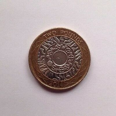 GB-2014 TECHNOLOGY/Standing On The Shoulders Of Giants £2 UK COIN HUNT.