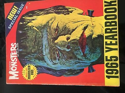 Famous Monsters Of Filmland  Yearbook 1965