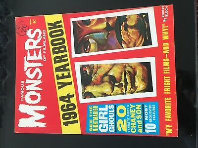 Famous Monsters Of Filmland  Yearbook 1964