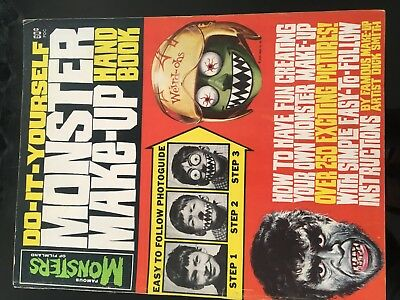 Famous Monsters Of Filmland  Monster Make Up Hand Book