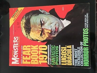 Famous Monsters Of Filmland  Year Book 1970