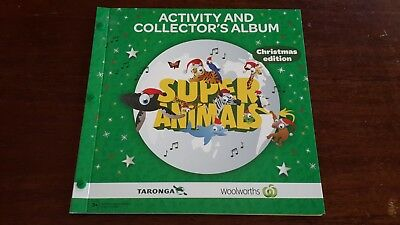 Woolworths Super Animals Christmas Album  [Green] - Complete [Cards 109-180]