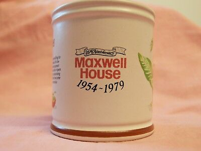 25th Anniversary maxwell house mug 1954 to 1979