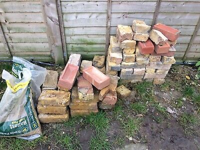 Yellow Stock & Red London Bricks Reclaimed Old E11 Pick Up