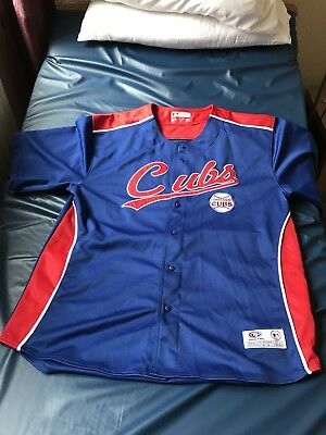 Authentic Chicago Cubs Shirt Large