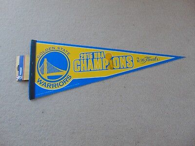 NBA Golden State Warriors 2015 The Finals Champions Pennant