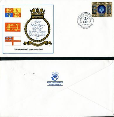 GB 1977. QE2 Silver Jubilee Review of the Fleet. Navy. British Forces. Spithead