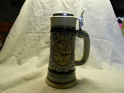 Avon Sporting Stein Decanter Rainbow Trout Setter Hunting Fishing no Box