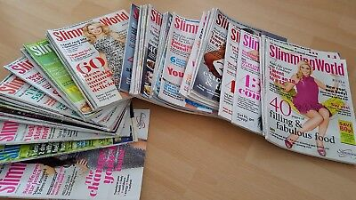 large lot of slimming world magazines