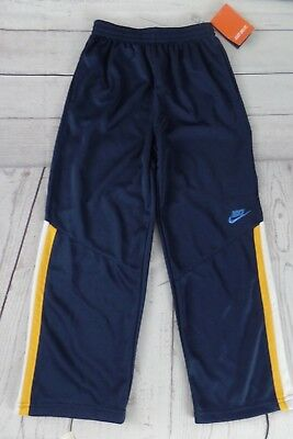 NWT NIKE Boys Size 7 Athletic Pants Navy Blue NEW