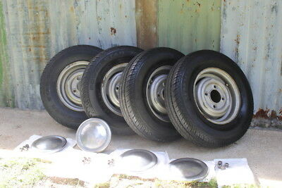 MINI Wheels and Tyres 145 /80R 10 KUMHO (Four wheels and tyres)