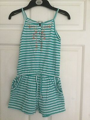 Girls Fat Face playsuit age 6-7