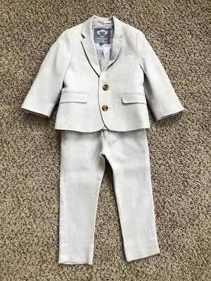 Boys Size 2 Linen Appaman Suit Worn Once Great Condition DARLING!