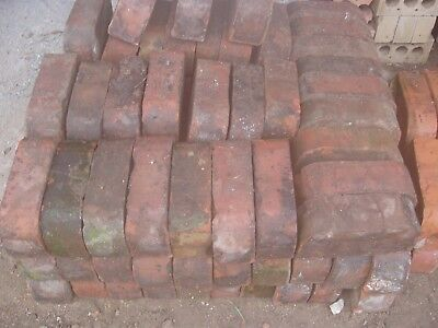 Reclaimed Red Double Bullnose Bricks - North Yorkshire