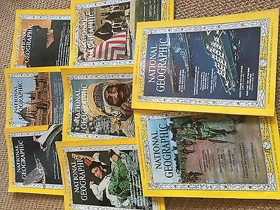 1965 National Geographic Magazine bundle: Jan-July, Nov