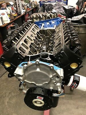 289 FORD LONG block, Direct bolt in,With Pan & TC, 6 Bolt
