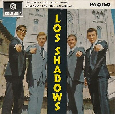 THE SHADOWS - E.P. Hülle von LOS SHADOWS aus 1963