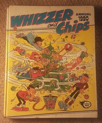 Whizzer and Chips Annual 1990