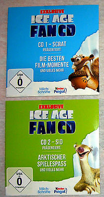 Ice Age - 2 exklusive Fan-CDs - Neu