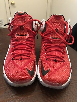 quality design c1822 2eef2 ... purchase nike lebron xii 12 heart of a lion university red 684593 601  size 59c42 41a89