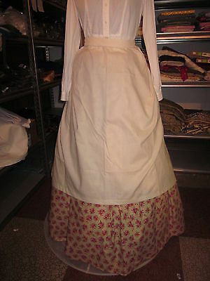 Civil War, Victorian, Edwardian,  Dickens Long Apron 1 Size Ladies