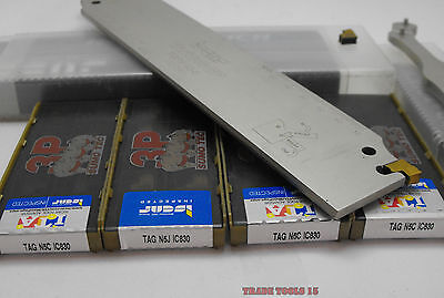 ISCAR NEW GROOVING-PARTING KIT: 40pcs. TAG N5C, N5J IC830 AND TGFH 45-5 BLADE